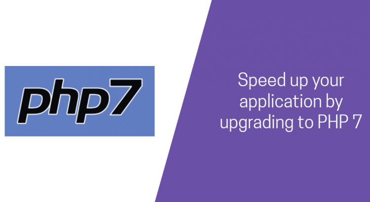 speed up your app by upgrading to php 7