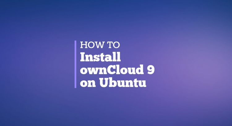 install owncloud 9 on ubuntu