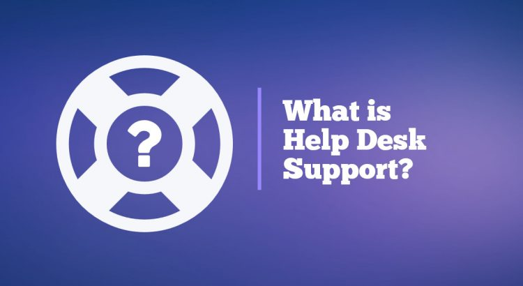 what is help desk support