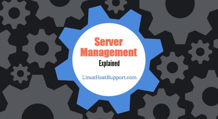 what is server management