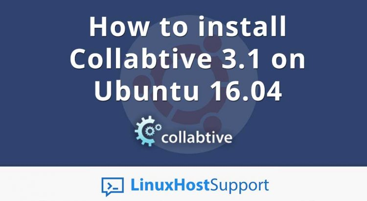 How to install Collabtive 3.1 on Ubuntu 16.04