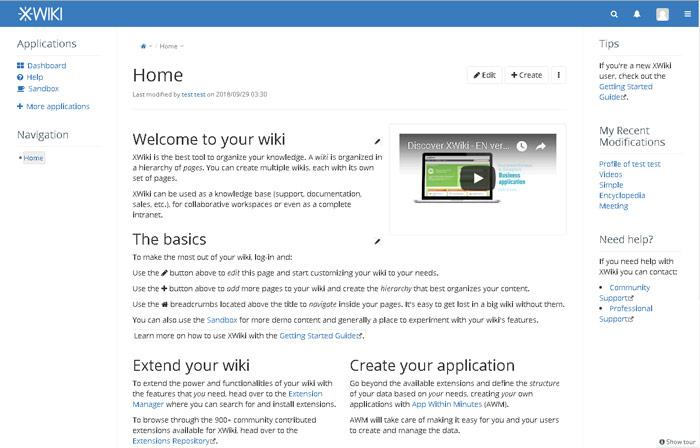 Installing XWiki on Debian 9