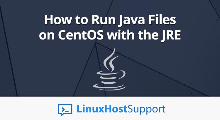 Run Java on CentOS with JRE