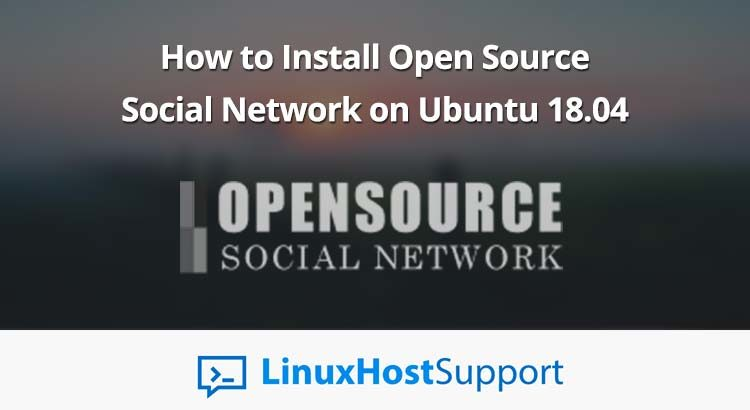 install open source social network odss ubuntu 18.04