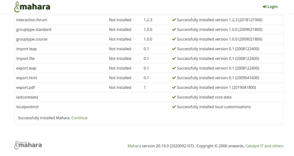 install mahara ubuntu 20.04