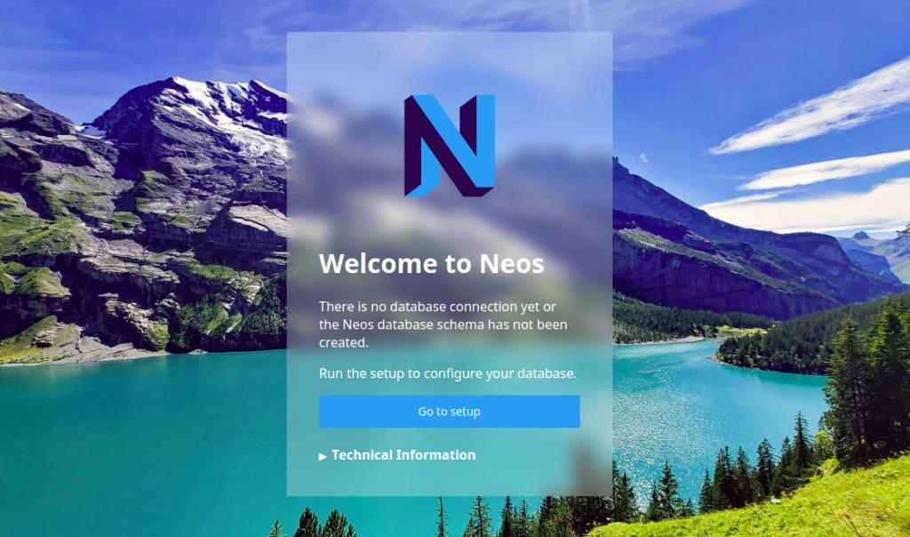 install neos cms on ubuntu 20.04