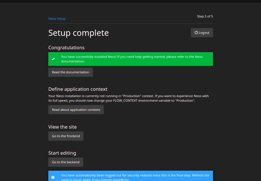 tutorial on installing neos cms on ubuntu 20.04