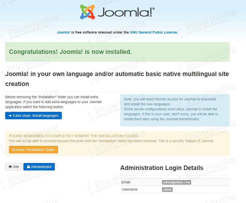 install joomla 3.9 on ubuntu 20.04